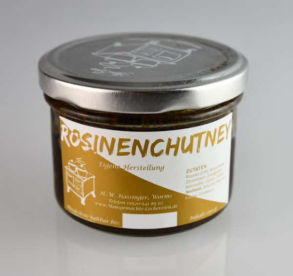Rosinenchutney